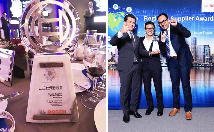 Premio al proveedor de Bosch