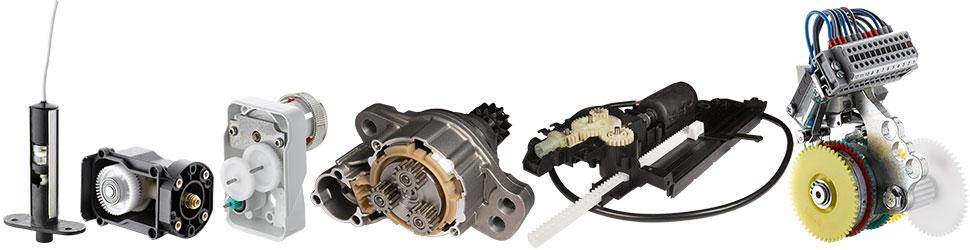 Kunststoff-Baugruppen & Kleingetriebe